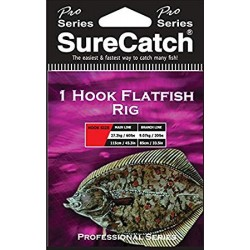 Sure Catch 1 Hook Flatfish Rig