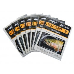 AIRFLO POLY LEADER LIGHT TROUT 5ft