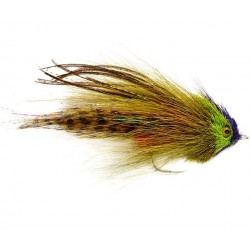 Fulling Mill Serge's Wrasse Olive Fly