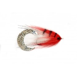 Fulling Mill P's W/Tail White Red Fly